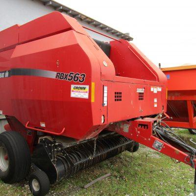 Used 2008 Case IH RBX563 BALER