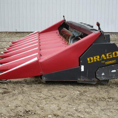 Used 2010 Olimac Drago N8 CORN HEAD