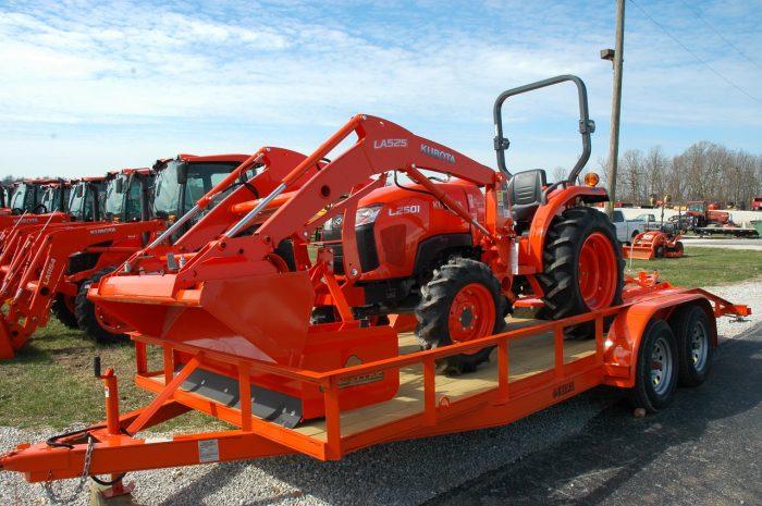 Kubota 2501 Tractor Package Deal