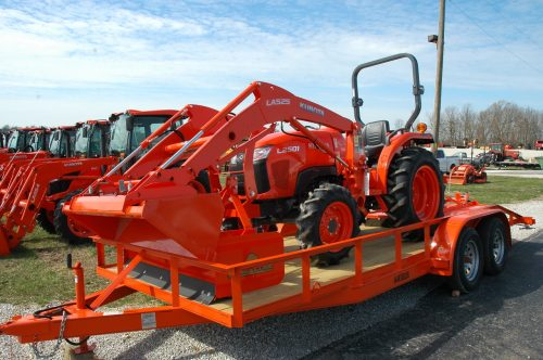 Kubota tractor packages