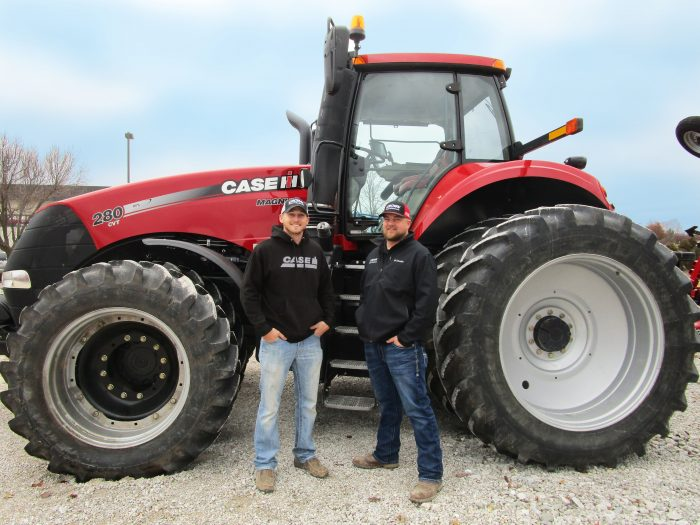 new precision farming equipment in Missouri