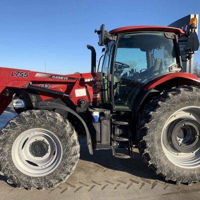 Used, 2015 CIH Maxxum 145 Tractor